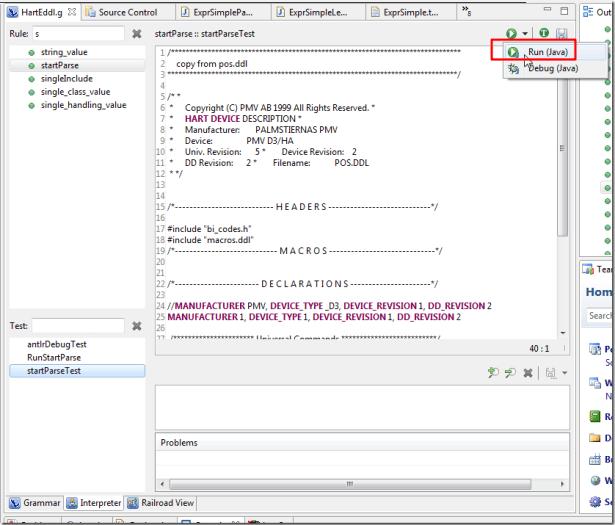 change to run java for debug_thumb