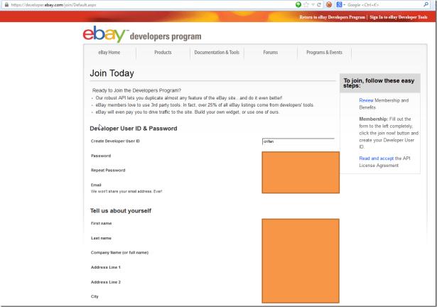 join today for ebay developers program part one
