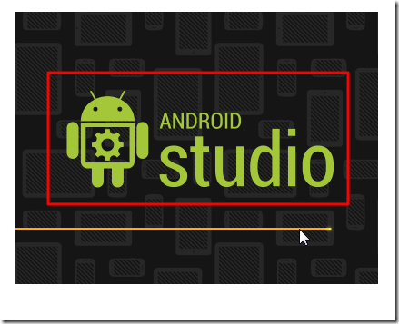 launching ui for android studio