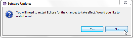 temp not restart eclipse for meanwhile is installing x86 image for android