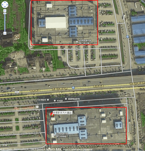 haodejia east ave sub site nearest overview satellite map