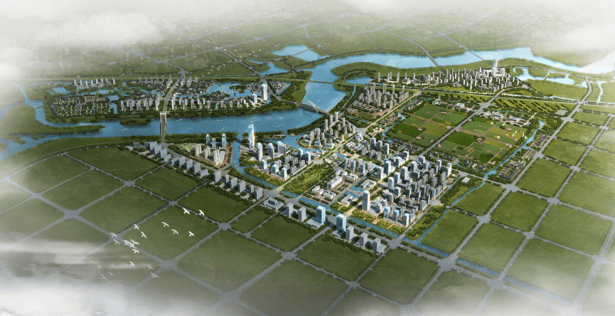 visual effect of guzhen south district planning