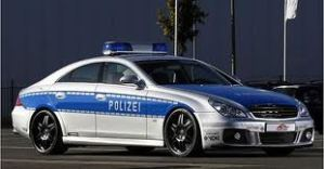 Mercedes Benz Brabus Rocket CLS police