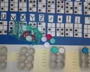 pannello del codice braille