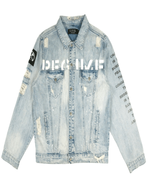 CIVIL REGIME Crash Denim Jacket