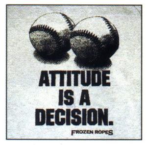 atitudinea este o decizie