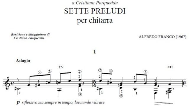 Sette-Preludi-Alfredo-Franco