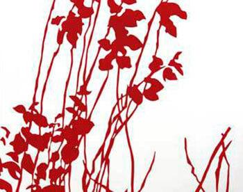 Naturaleza en rojo I