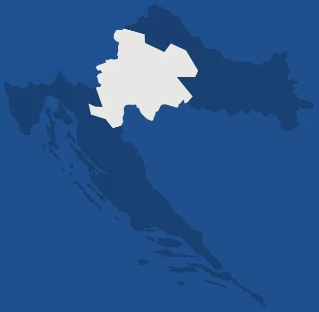 Croatie centrale, région de Croatie