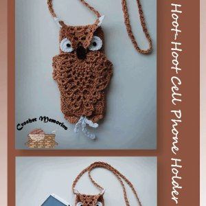 Hoot-Hoot Cell Phone Holder