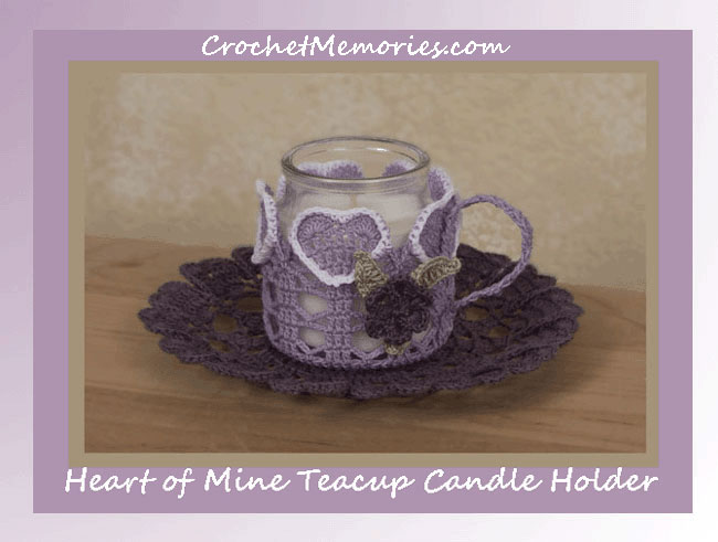 Heart of Mine Teacup Candle Holder