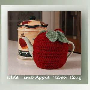 Olde Time Apple Teapot Cozy