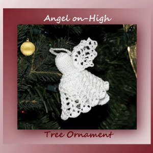 Angel on-High Tree Ornament