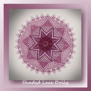 Shaded Lace Doily