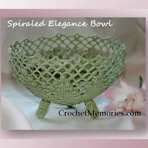 Spiraled Elegance Bowl