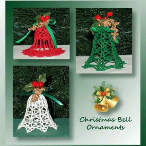 Christmas Bell Ornament Set