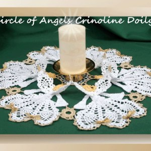Circle of Angels Crinoline Doily