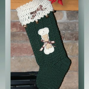 Tail-Wagging Christmas Stocking