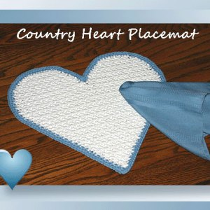 Country Heart Placemat