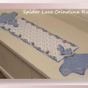 Spider Lace Crinoline Runner