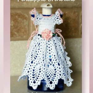 Pineapple Crinoline Dishsoap Cover