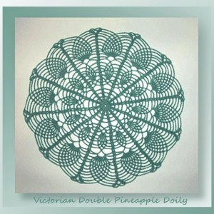 Victorian Double Pineapple Doily