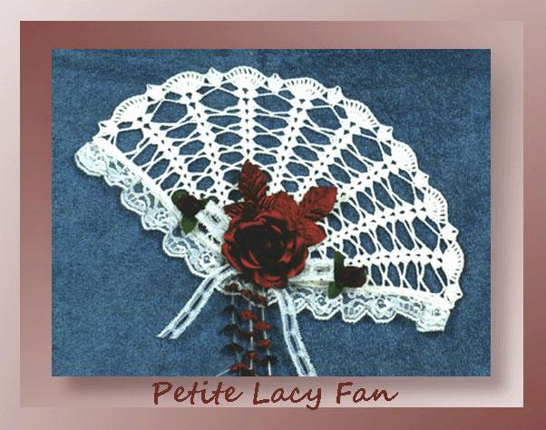Petite Lacy Fan Crochet Decorative Fan Patterns
