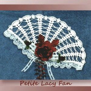 Petite Lacy Fan