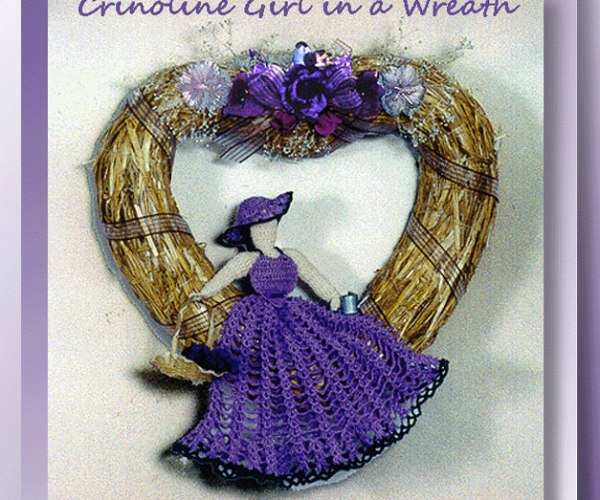 Crinoline Girl in a Wreath  <br /><br /><font color=