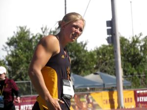 ASU Track and Field: Maggie Ewen Discusses her Record-Setting Performance – Cronkite Sports