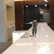 The high-end countertops are one of the many upgrades included in the Founders' Club.