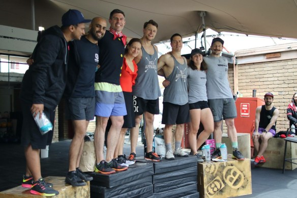 Our Winners & place-getters at the 2017 WoD on the ROD Games! Pic: Angela Clancy.