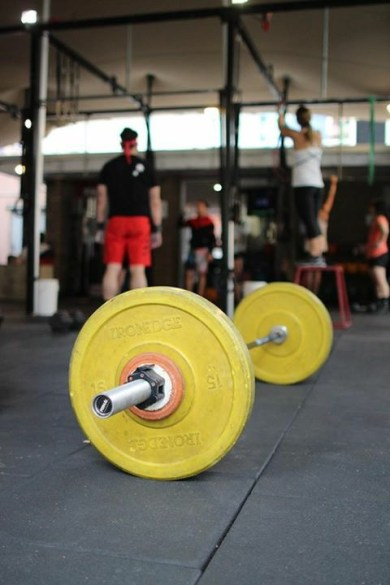 Its just you and the Barbell! Pic: Angela Clancy