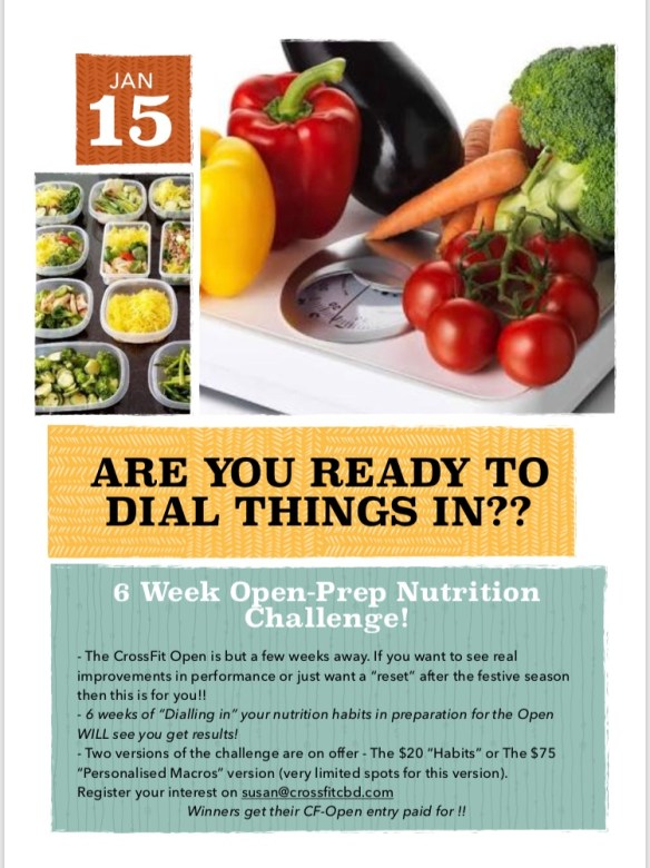 Are YOU ready to Dial things in??? . Starts January 15th!!