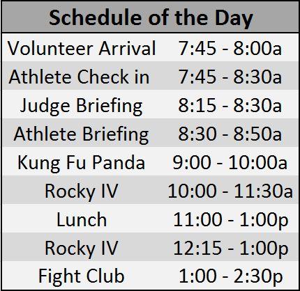 2013 CFI games schedule
