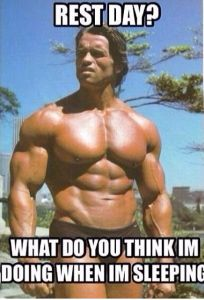 Arnold rest day