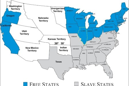 map of united states during civil war