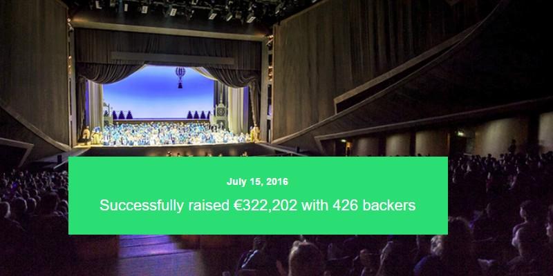 Opera di Firenze raggiunge il suo ambizioso obiettivo e raccoglie +300k su Kickstarter