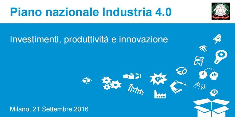 Piano Industria 4.0: notevoli vantaggi anche per startup ed equity crowdfunding