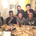 """""""This Spring Break, I enjoyed the company of friends at David Acevedo's home for dinner and a refreshing hangout/talk with his family."""" -Michael"""