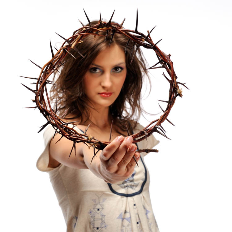 marcus crucifixion six girls