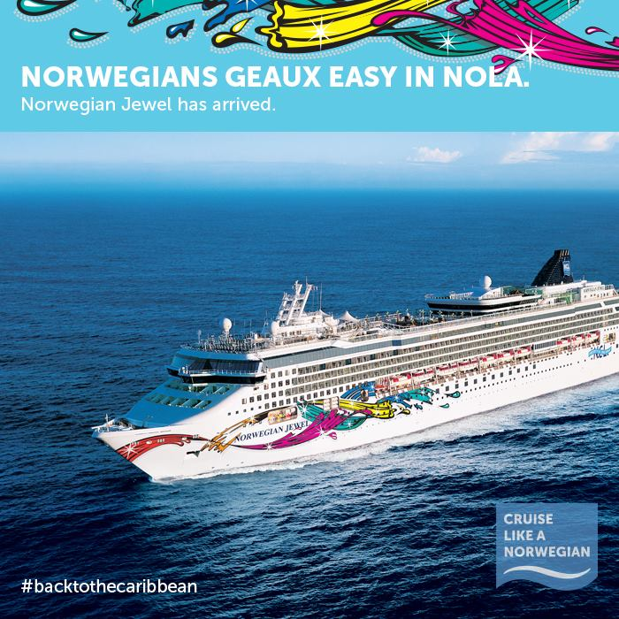 Norwegian Jewel Begins Sailing From New Orleans Cruise