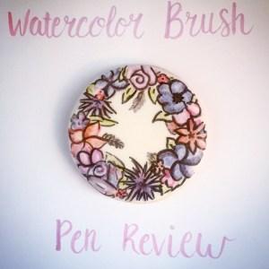 Watercolor brush pen review