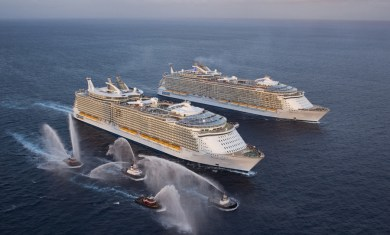Oasis e Allure of the Seas
