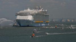 Harmony of the Seas chega esta terça-feira a Southampton (consulte aqui todos os itinerários no Mediterrâneo)