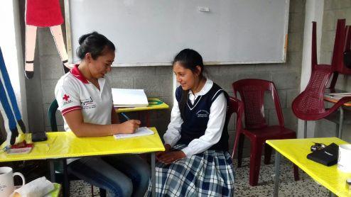 Cruz Roja Guatemalteca realiza una Jornada Médica en Tejutla, muncipio de San Marcos