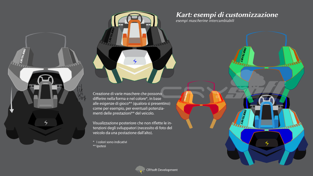 Skiddy - kart customization preview