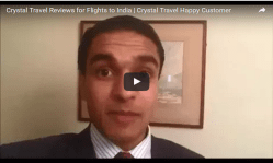 Crystal Travel Reviews for Flights to India