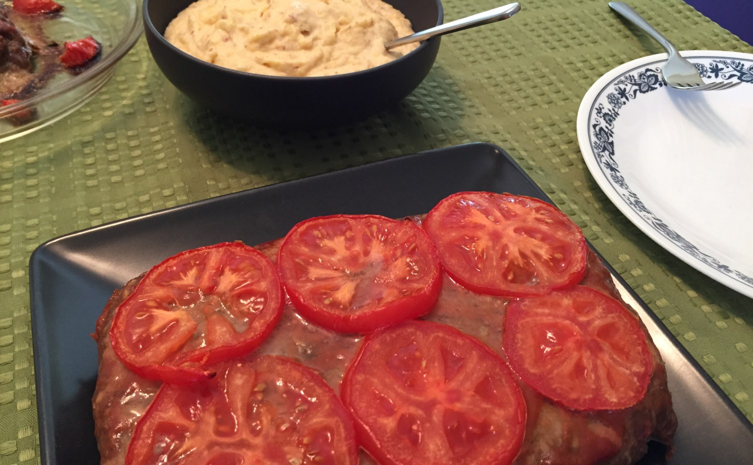 Sunday Dinners-Spicy Springdell Meat Loaf with Rutabaga Potato Whip