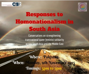 Effects of Homonationalism in South Asia web